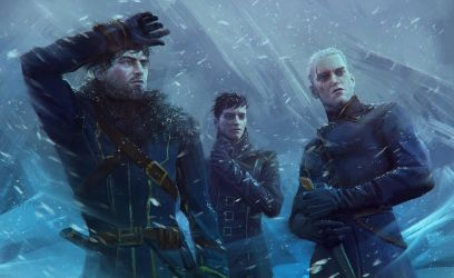 Dishonored - Snowstorm by Eneada