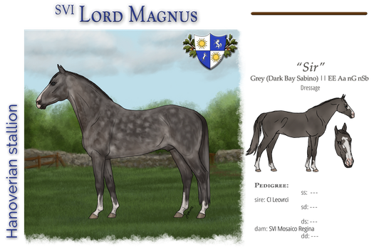 SVI Lord Magnus - SOLD by MistyofSunrise