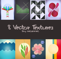 8 Vector Textures by necannec