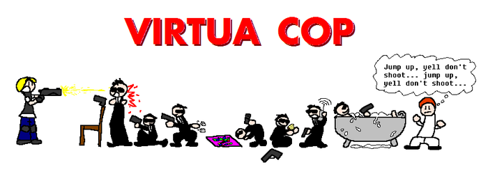 Virtua Cop by Yart