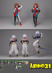 Android 21 Human For G8F by Shinteo