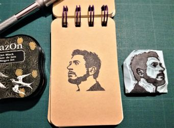 Iron Man 3 - Rubber Stamp by lady-dha