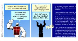 Update the operating system by VictorHugo