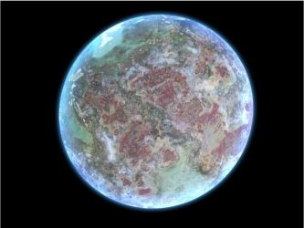my first planet by 4wallforce