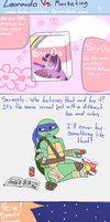 Leonardo VS Marketing by Neko-mirichan