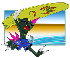 Sneasel use SURF by manyuladic