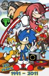 Sonic 20th by Toug-2000