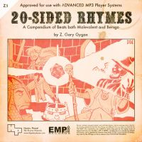 20-Sided Rhymes Front Cover by mrdestructicity