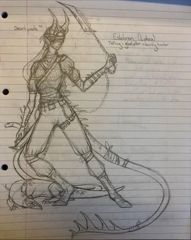 Rory | Eslohren (Dungeons and Dragons OC) by Cosmic-Cola