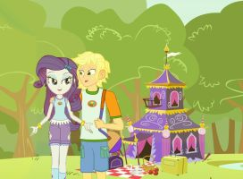One Sweet, and Romantic Camping by hectorcabz