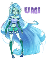 Umi Contest Entry by Chancetodraw