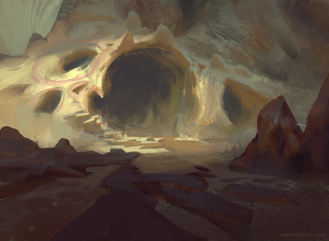 Dragon Cave by parkurtommo