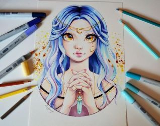 Luna - Guardian Of The Moon by Lighane
