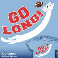 GO LONG- on SALE now by amegoddess