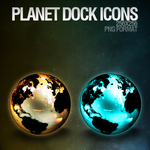 Planet Dock Icons by dEGOnstruction