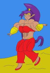 Shantae muscle dance by philalbers