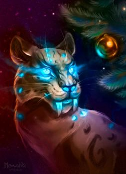 Loque'nahak and the Christmas tree by miaushka-workshop