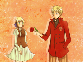 APH: -For You- by Misaki-nee-chan