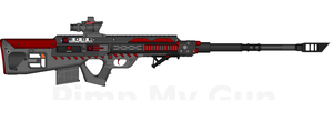 DII-EI SR-33 'Archer' Sniper Rifle by Lord-DracoDraconis