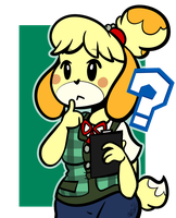 Confused Isabelle by BefishProductions