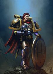 Commission: The II Primarch - Alex by saint-max