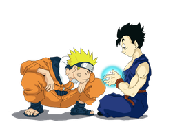 Gohan and Naruto by CaiSamaX