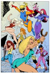 Hanna Barbera Super Girls by CarlosMota