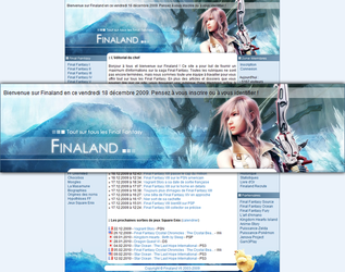 Finaland Design: FFXIII by Toulal