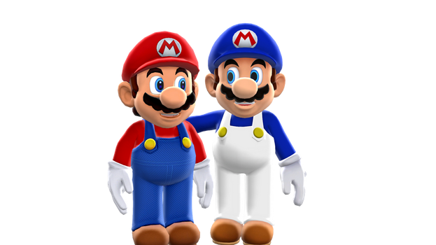 Mk513 Mario and SMG4 MMD by FcoMk513