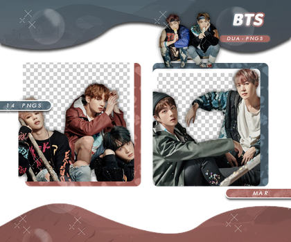 PACK PNG 708 // BTS by DUA-PNGS