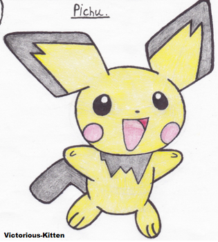 Pichu by Victorious-Kitten