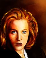 52 Portraits #16: Scully by rflaum
