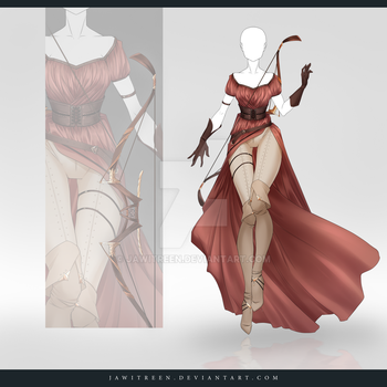 (CLOSED) Adoptable Outfit Auction 259 by JawitReen