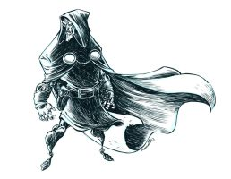 Inktober Doctor Doom by RobbVision