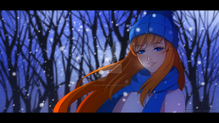 Firefly in the Snow {GIFT} by FeistyyWolf