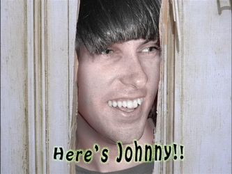 Here's Johnny by megamike75