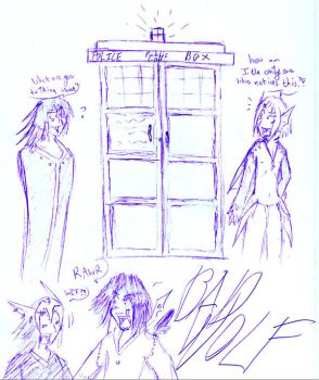 The......TARDIS..? by CannibalHarpy