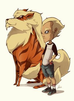 Arcanine by k0di