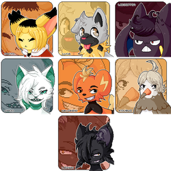 Icon Batch 1: by G-0AT
