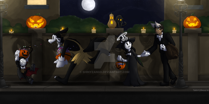 BatIM - Trick or Treat by ShinyZango