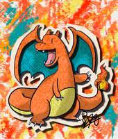 KAWAIIDEX: 006 - Charizard by Draareg