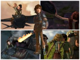 Hiccup The Dragon Trainer by stitch5408