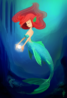 Mermaid Colored by AngryPotato