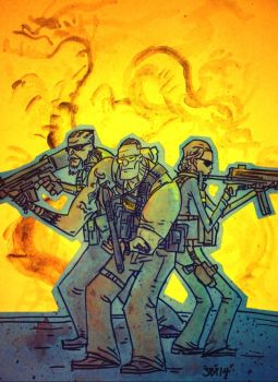 Sabotage Sketch by SpencerPlatt