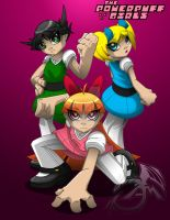Powerpuff Girls by aloid19