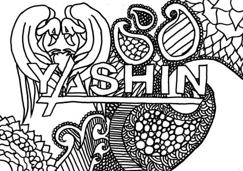 Yashin colouring page by BandColouringPages
