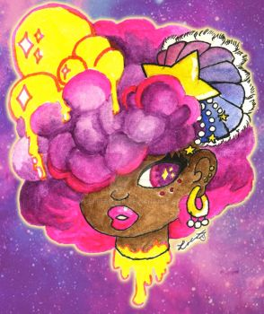 Afro Space Gas by peppermeek