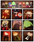Paper Avengers by Shannagins