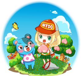 Animal Crossing New Leaf : My Baby Bear by Iris-Zeible