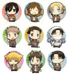 Buttons snk for japan expo by Charln